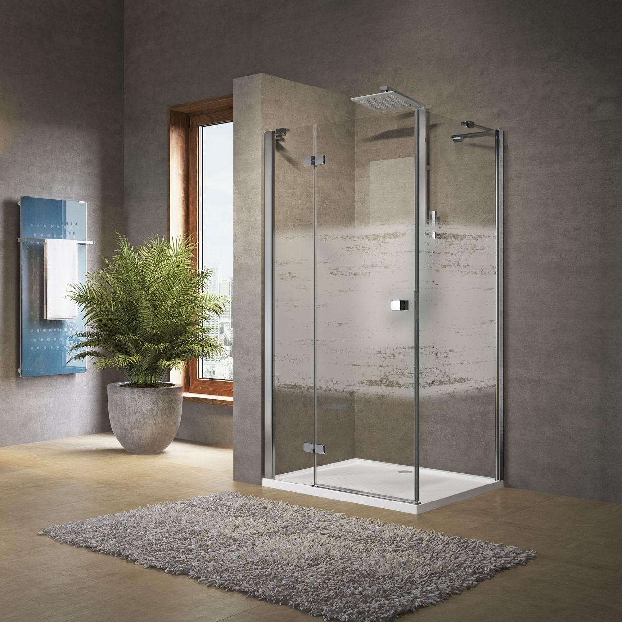 Shower enclosures Brera G+F - Novellini