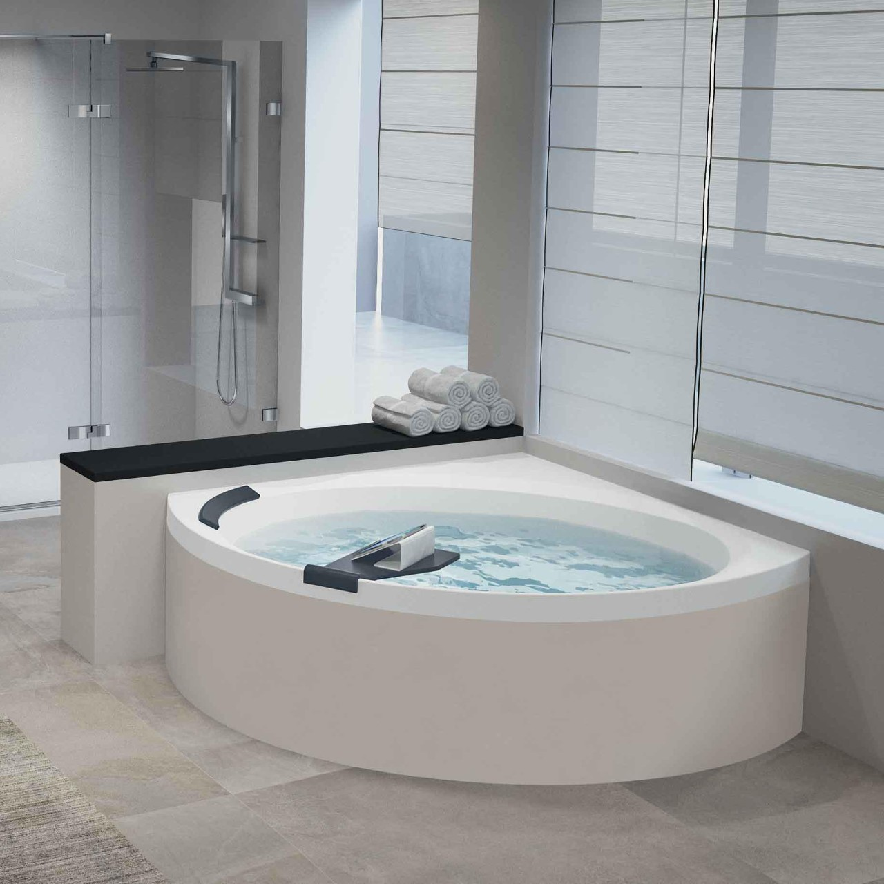 baignoires divina c novellini. Black Bedroom Furniture Sets. Home Design Ideas