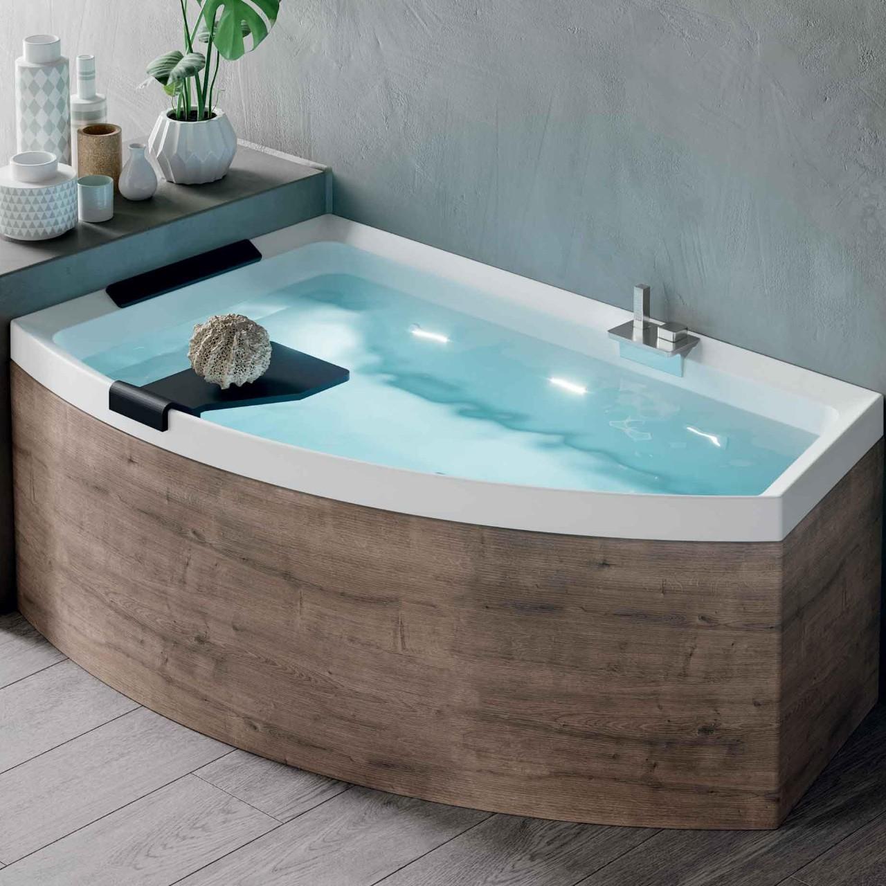 Vasche divina o novellini - Vasche da bagno asimmetriche 160x70 ...
