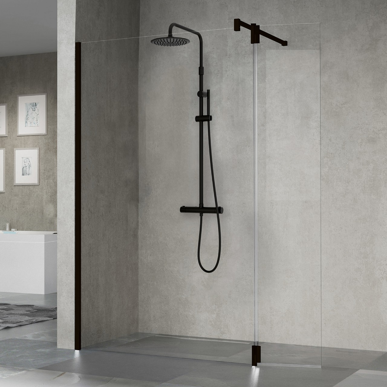 Colonna Doccia Easy Shower.Eq Panels Easy 2 Novellini