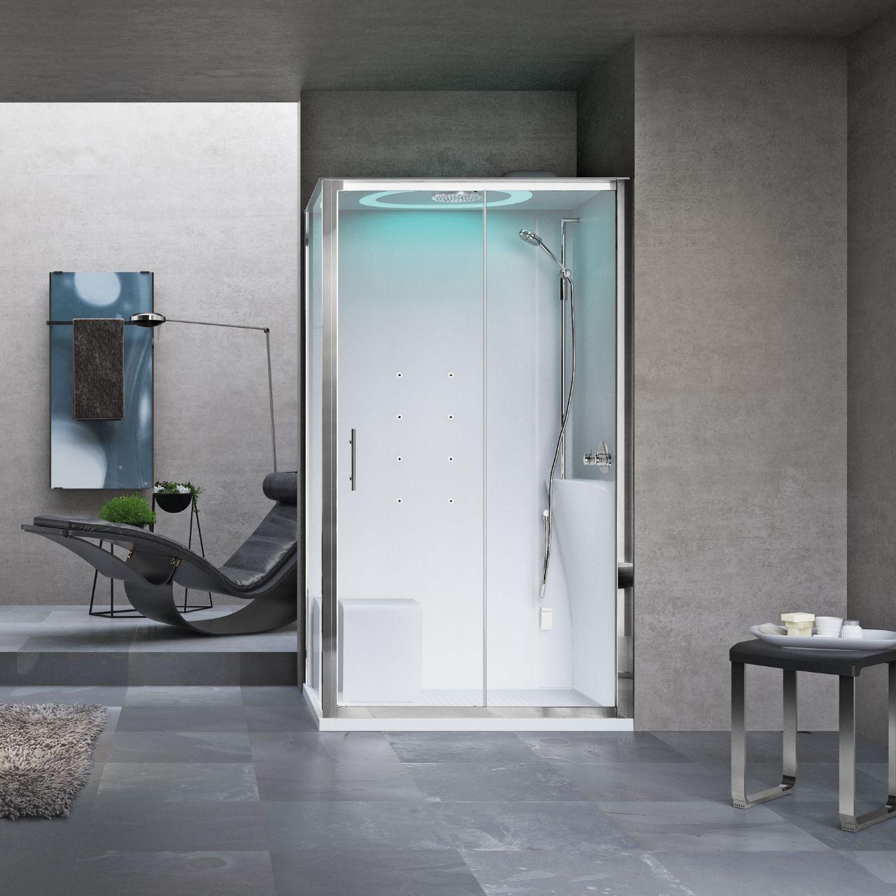 Scheda tecnica eon novellini confortevole soggiorno nella casa - Cabine doccia novellini ...