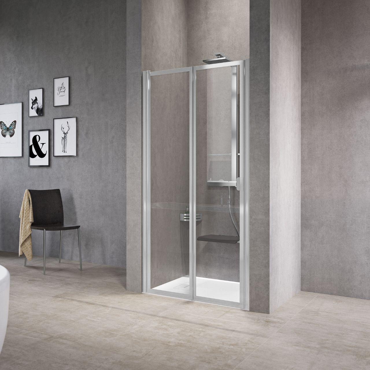 Cabinas De Ducha Novellini:Mamparas de ducha Free2 P – Versión alta – Novellini