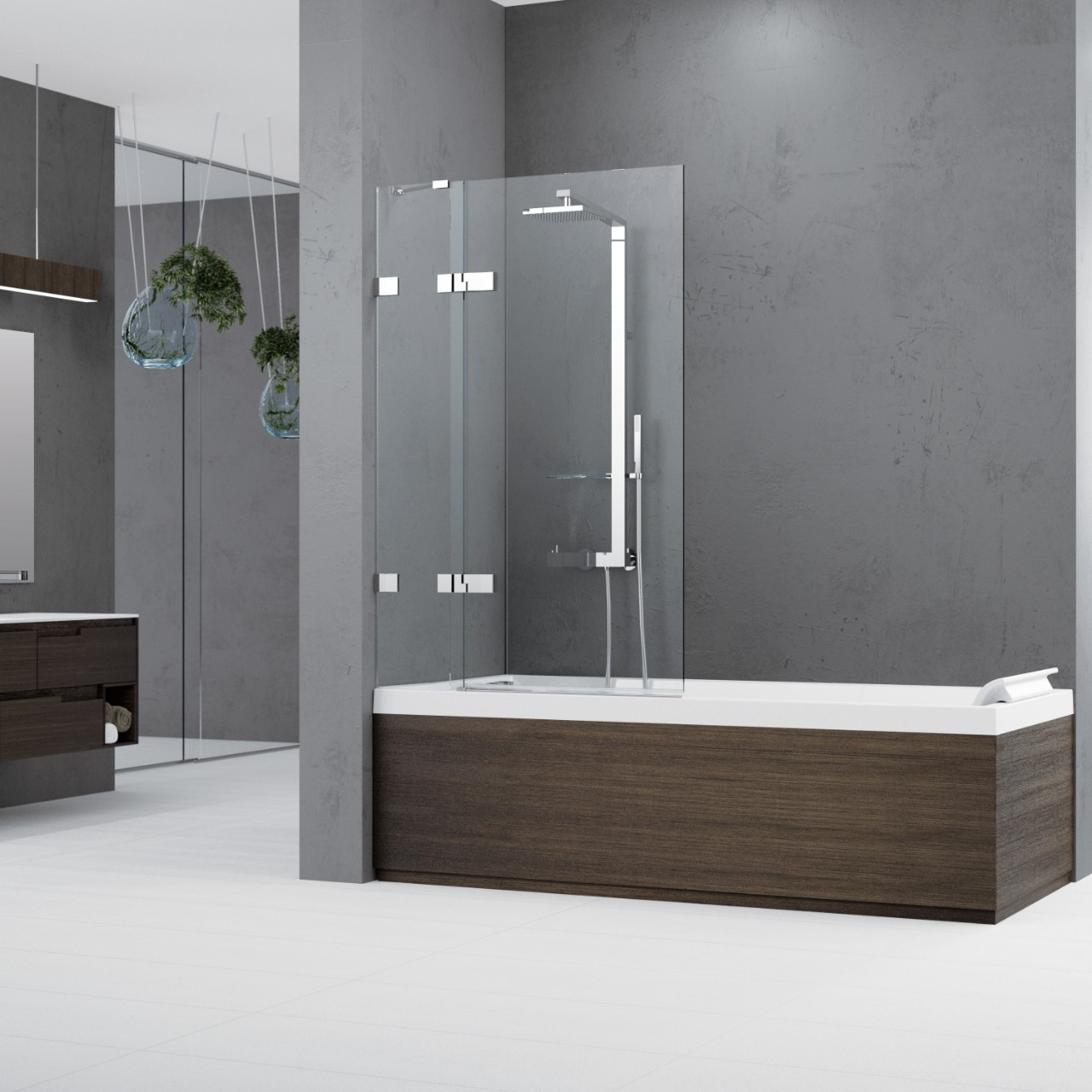 Cabinas De Ducha Gala:Mamparas de bañera Gala 2 3V – Novellini