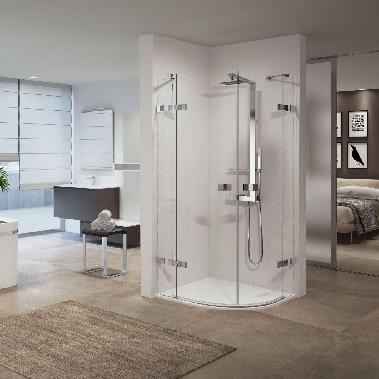 Cabinas De Ducha Gala:Mamparas de ducha Gala 2 R – Novellini