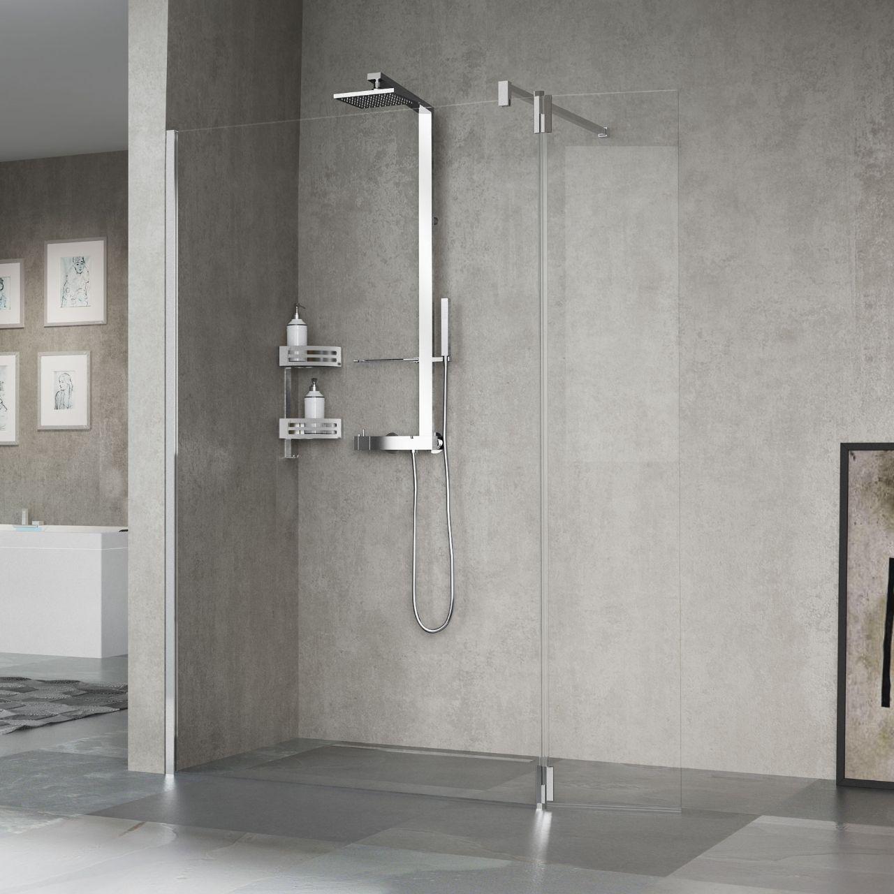 Cabinas De Ducha Novellini:Stabilizer Bar Shower Chrome