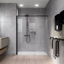 Shower spaces - Kuadra H Frame