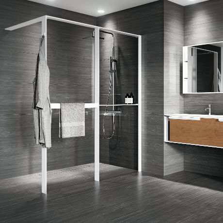 Shower spaces - Kuadra HWZ2 Frame