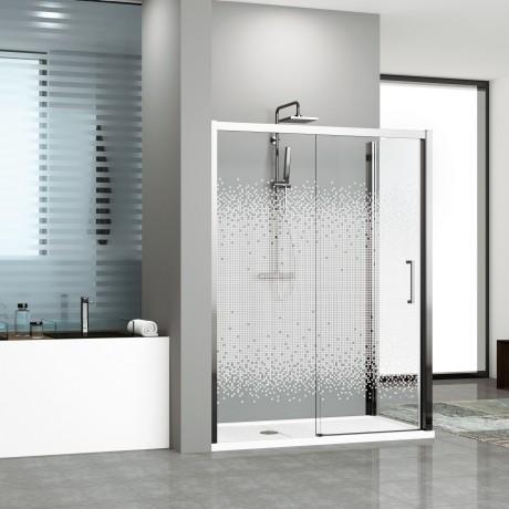 Shower enclosures Kuadra 2P+F - Novellini