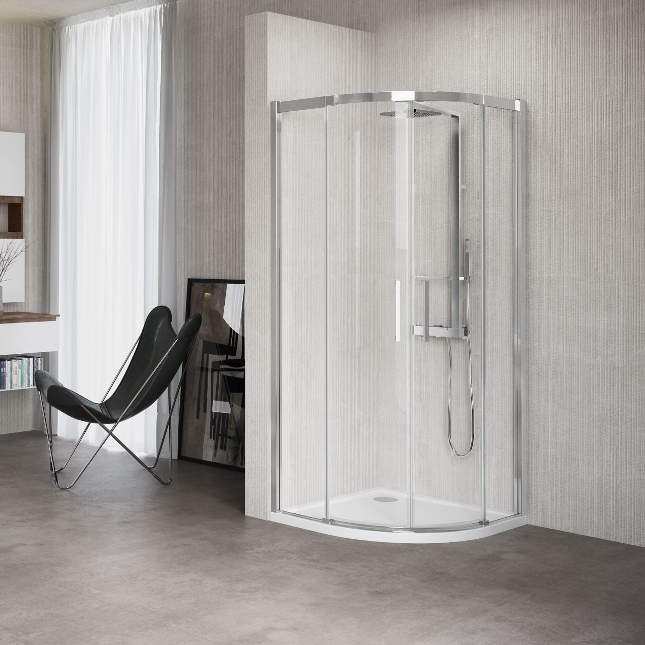 shower enclosures kuadra r novellini