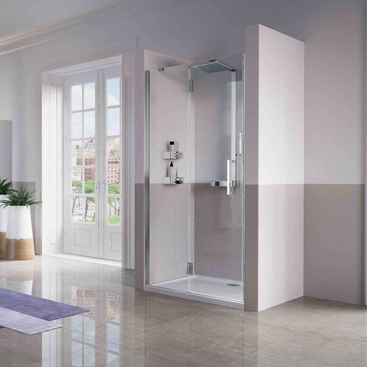 box doccia louvre g novellini. Black Bedroom Furniture Sets. Home Design Ideas