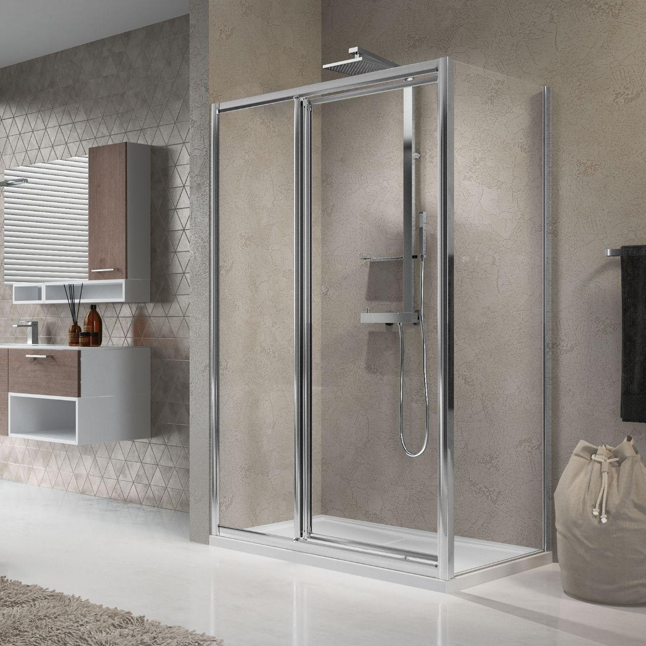 box doccia lunes g f in linea f novellini. Black Bedroom Furniture Sets. Home Design Ideas