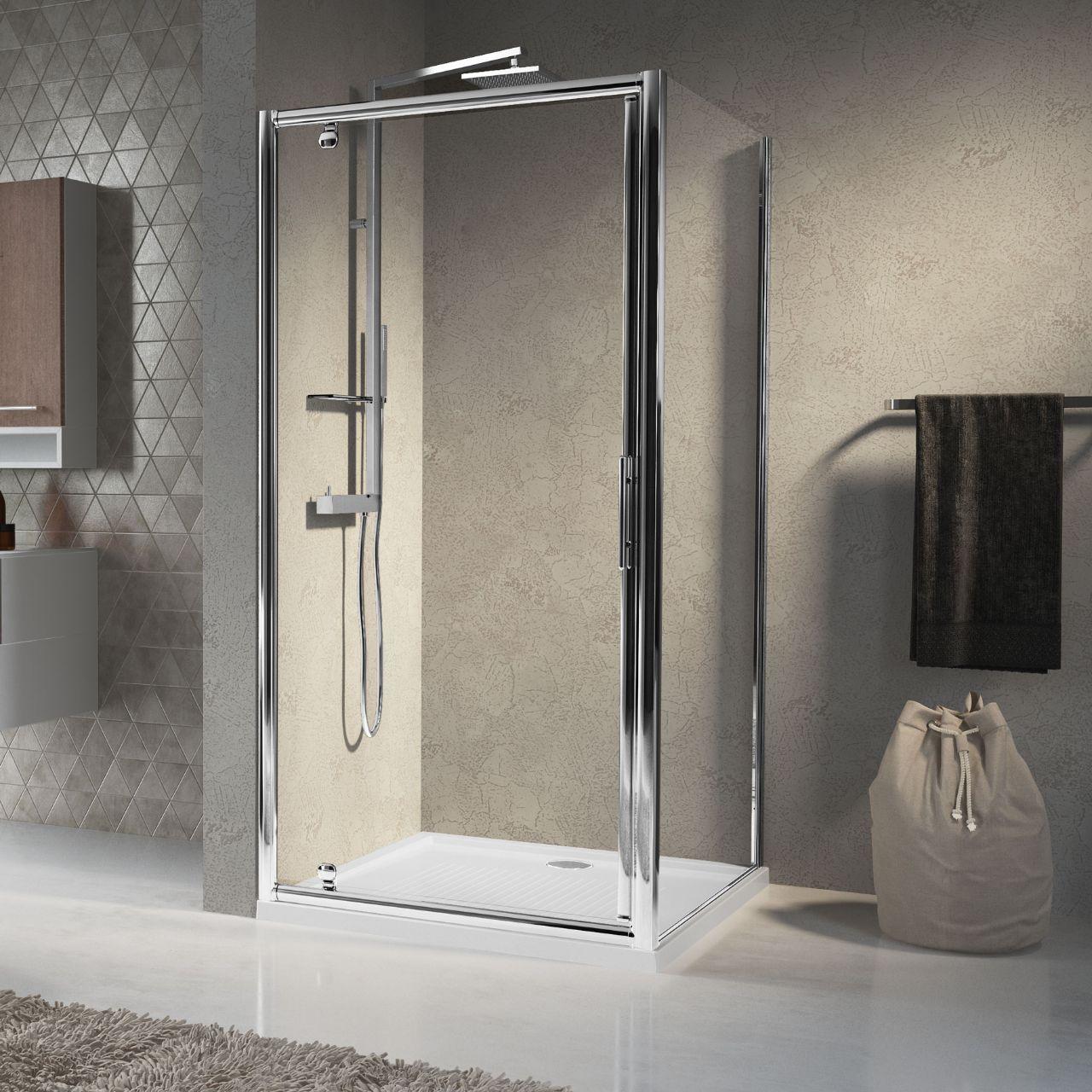 Shower enclosures lunes g novellini - Box doccia pentagonale ...