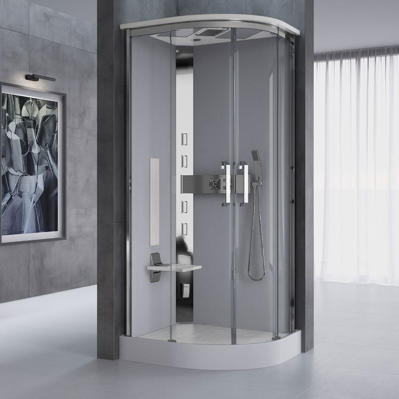 Shower cubicles Nexis - Novellini
