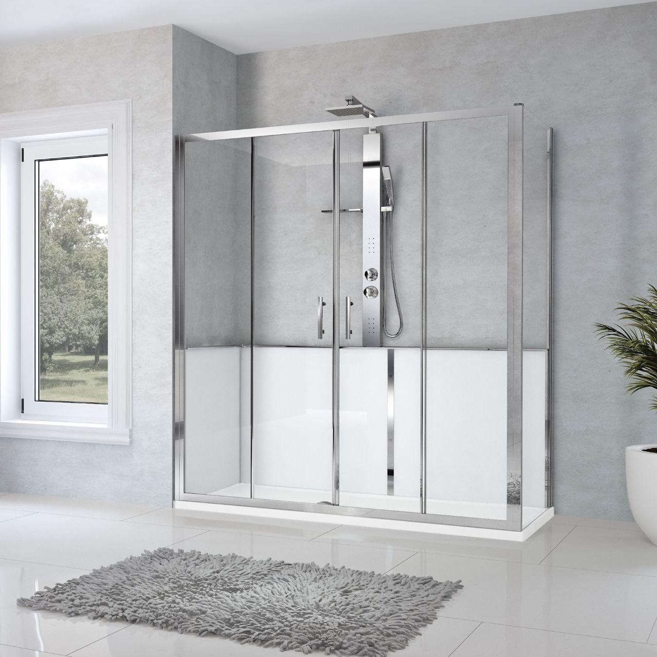 cabine doccia revolution zephyros 2a f novellini. Black Bedroom Furniture Sets. Home Design Ideas