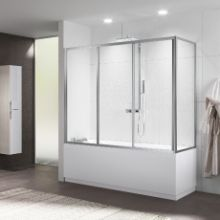 Shower enclosures - Riviera 2.0 3PV+FV