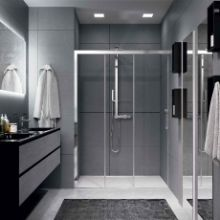 Shower enclosures - Rose Rosse 3PH+FH