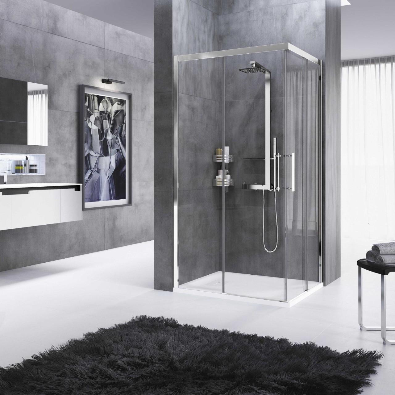 box doccia rose rosse a novellini. Black Bedroom Furniture Sets. Home Design Ideas