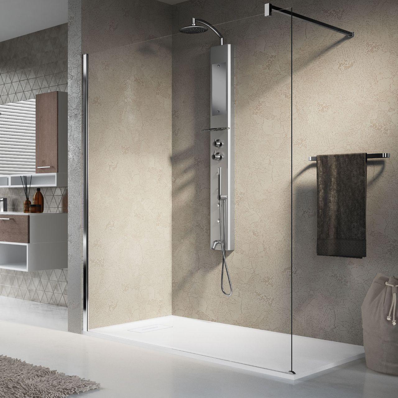 colonne doccia think 2 novellini. Black Bedroom Furniture Sets. Home Design Ideas