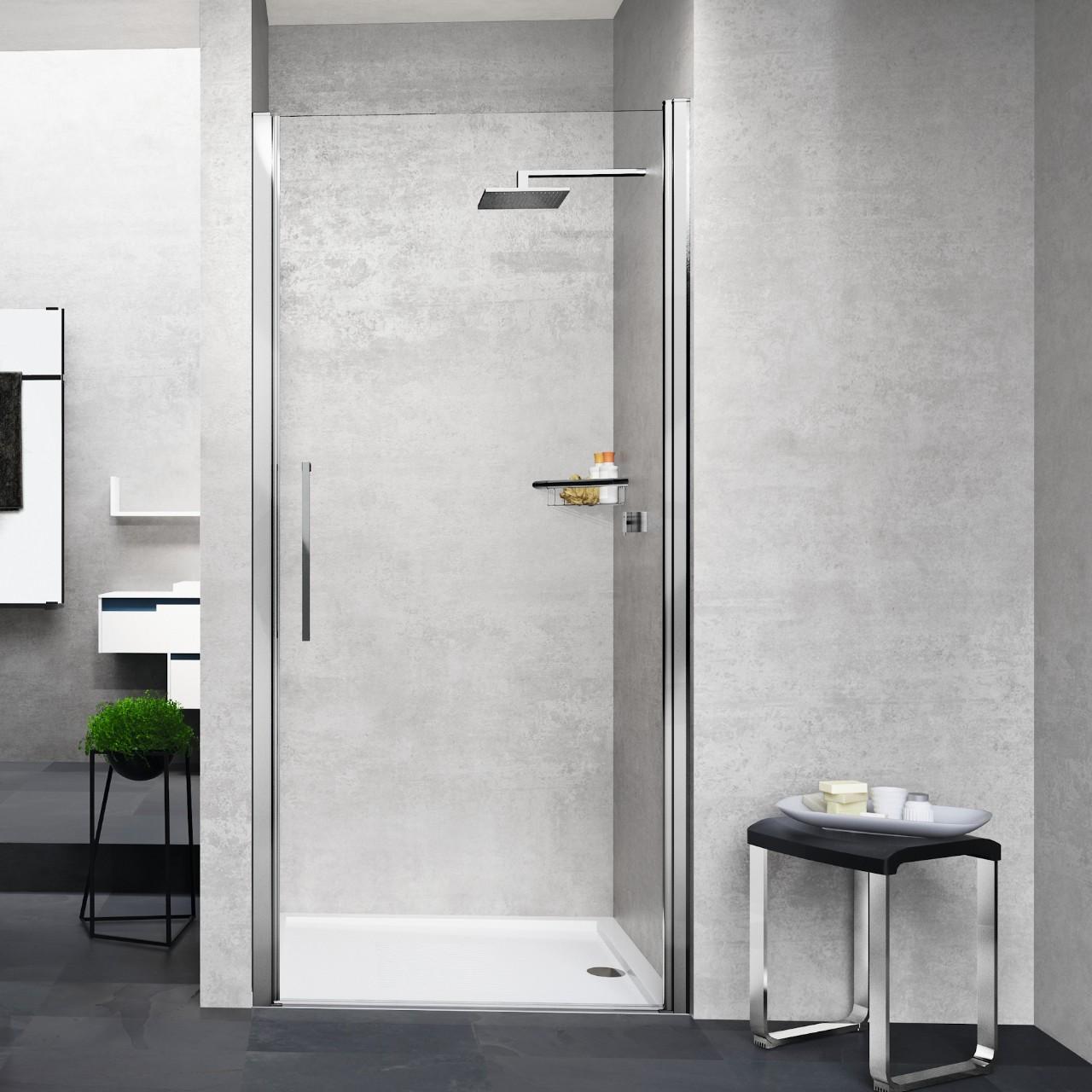 Shower enclosures young 2 0 1b novellini for Novellini shower doors