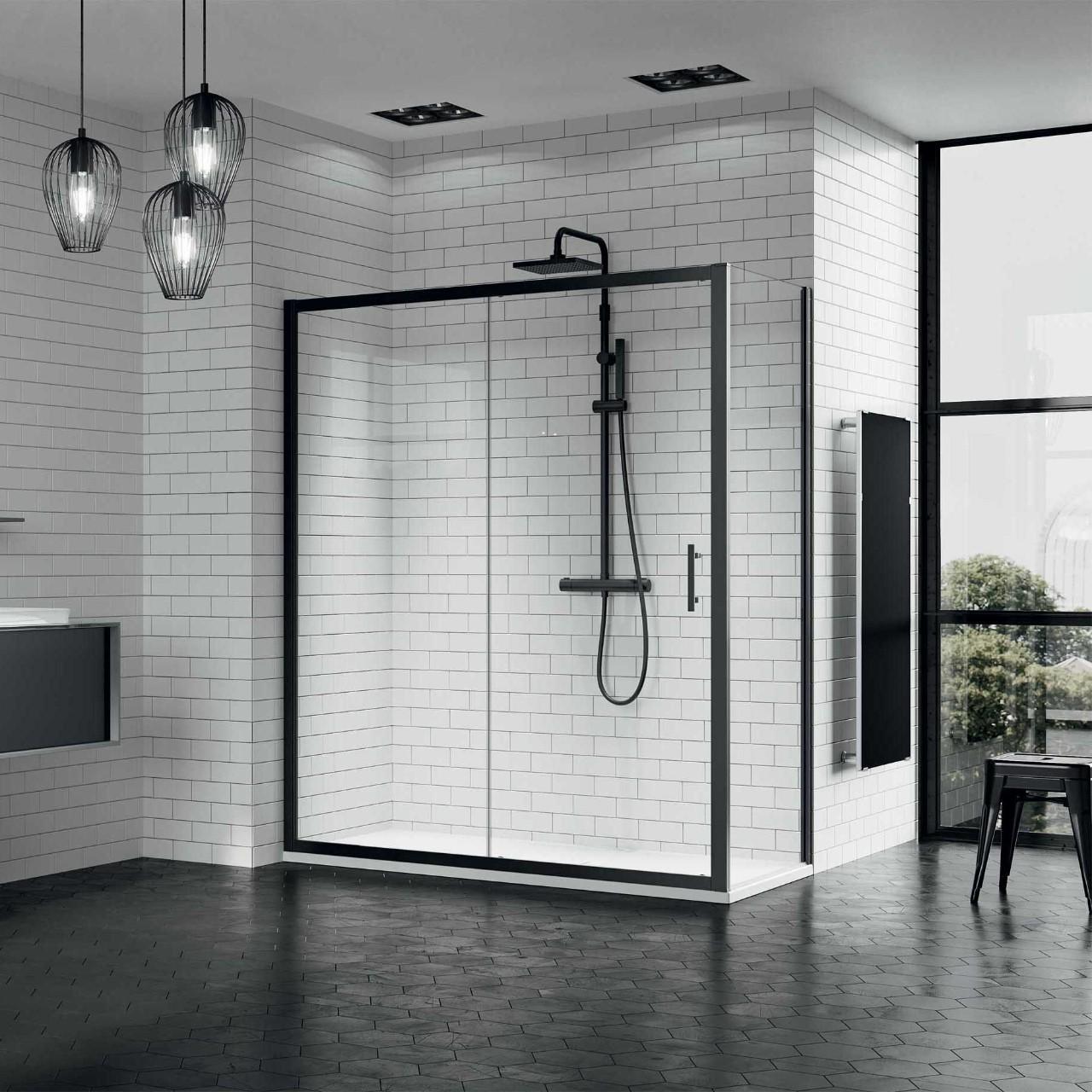 box doccia zephyros 2p f novellini. Black Bedroom Furniture Sets. Home Design Ideas